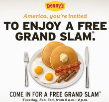 Denny's Breakfast Promotions
