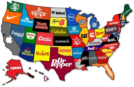 Coporate States Logos of America