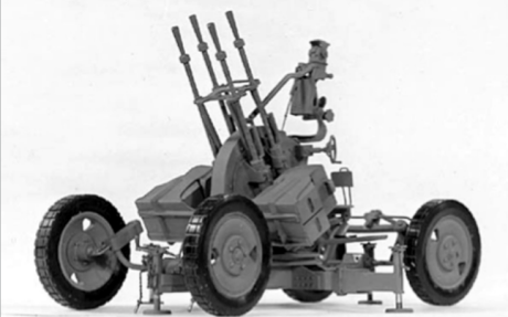 The ZPU-4 anti-aircraft gun allegedly used in North Korean executions. (US Army, via Human Rights in North Korea
