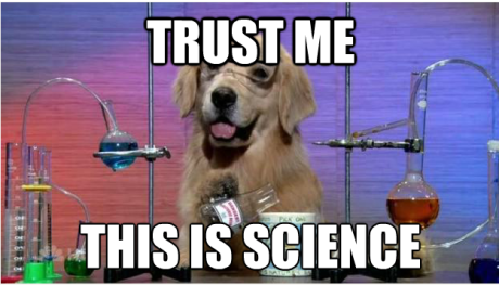 science-dog